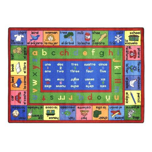 Educational Spanish LenguaLink Kids Rug Rug Size: 10'9