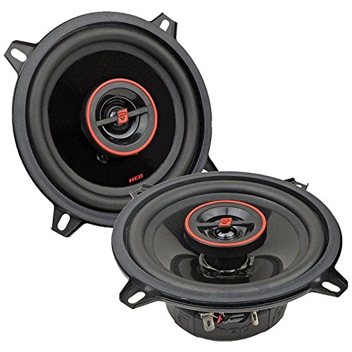 Cerwin-Vega 5.25-inch 2-Way 300w Speaker Car Audio Coaxial Full Range Car Stereo Speakers ()