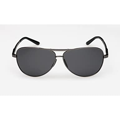 712c15befde Image Unavailable. Image not available for. Colour  WANGWO Men s Fashion Ray  Ban Polarized Sunglasses UV Protection Color Lens Summer Eyewear Metal Legs