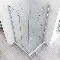 100 X 80 X 197 Cm Mampara de ducha esquina. Puerta plegable ducha Nano Cristal con ducha bañera: Amazon.es: Bricolaje y herramientas