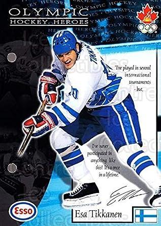 25da4451d (CI) Esa Tikkanen Hockey Card 1997-98 Esso Olympic Hockey Heroes (base