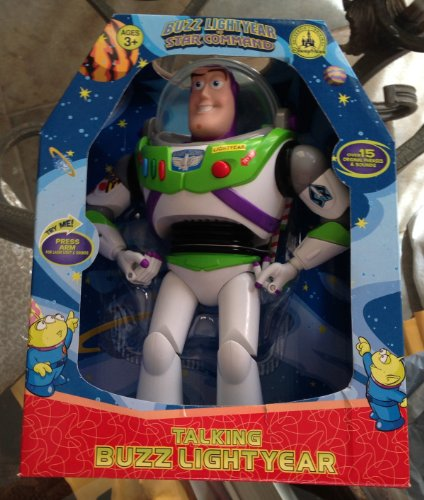 Disney Park Talking Buzz Lightyear Large Action Figure 12 inch