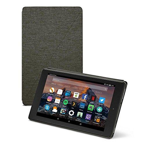 Amazon - Funda para Fire HD 8 (tablet de 8 pulgadas, 7ª y 8ª generación, modelos de 2017 y 2018), Negro