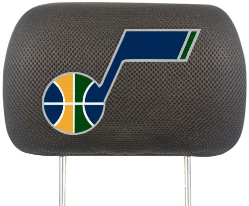 Fanmats NBA Utah Jazz Polyester Head Rest Cover by Fanmats