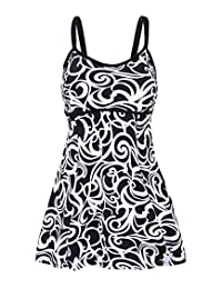 Milkuu Womens' One Piece Swimdress Cover Up Swimsuit Tankini Bathing Suit
