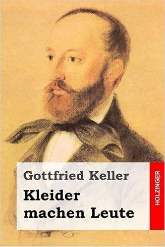 Amazon Fr Kleider Machen Leute Gottfried Keller Livres
