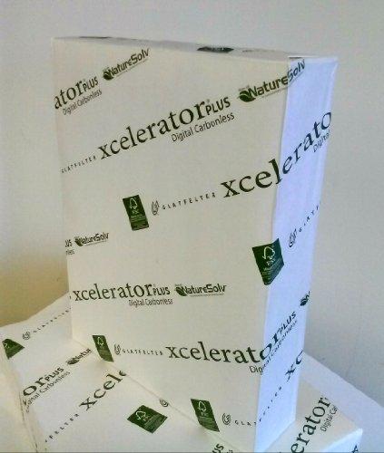 Xcelerator Plus Digital Carbonless Paper 8-1/2 x 11 inch, CFB, Smooth by Xcelerator® PLUS Digital Carbonless