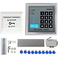 Pinty 1100lbs Electric Magnetic Door Lock Set with RFID Proximity Access & 10 Key Fobs