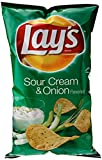 Lay's Sour Cream & Onion Flavored Potato Chips, 7.75 Ounce