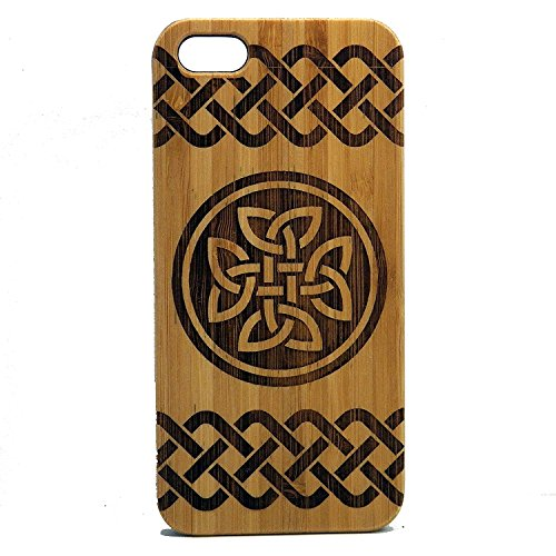 - Celtic Knot Case for iPhone 7 | iMakeTheCase Eco-Friendly Bamboo Wood Cover | Irish Knot Tattoo St. Patrick's Day