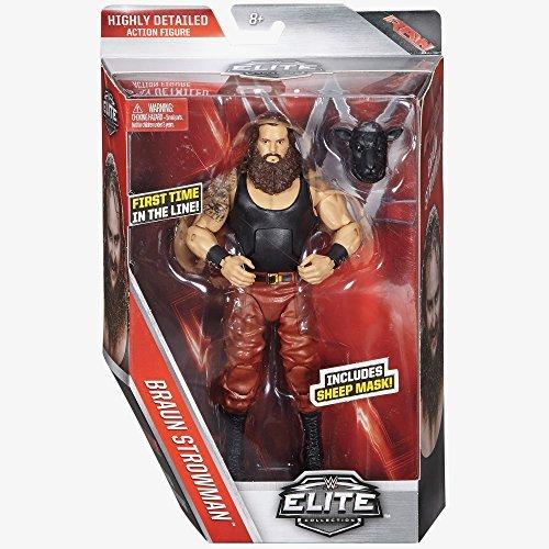 WWE Elite Series 44 Action Figure - Braun Strowman by Wrestling