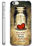 iPhone 6S Plus Case Slim Fit 5.5 Inch Above All Else Guard Your Heart for Everything You do Flows from it Proverbs 4:23