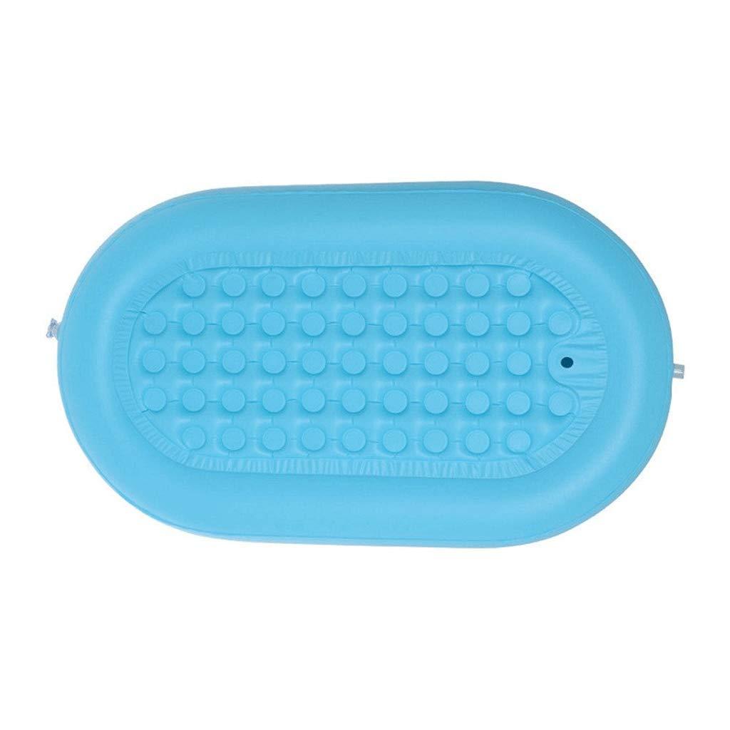 Folding Bathtub Inflatable Bathtub Adult Blue bathroomBathtub Baby Pool Foldable Tub 1428464cm Portable by GX Bathtub (Image #5)