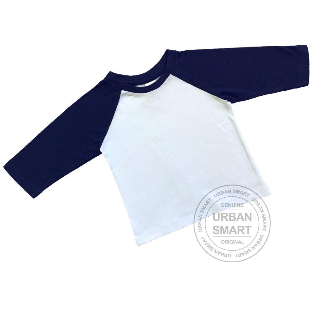 Urban Smart Baby Raglan - Infant Baseball Shirt