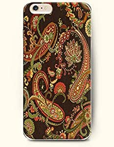 OOFIT Apple iPhone 5 5S Case Paisley Pattern ( Deluxe Mango Seed Pattern )