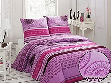 bettw sche 200 200 lila m belideen. Black Bedroom Furniture Sets. Home Design Ideas