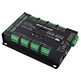 Nrpfell Bc-632 Dc5V-24V Constant Voltage 32Ch DMX/Rdm Decode Driver 3A32Ch Output Dmx512 Rgbw Controller for RGB Rgbw Led Strips Lamp