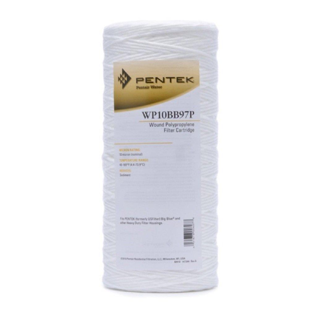 Pentek WP10BB97P 10'' micro Wound Polypropylene Water Filter