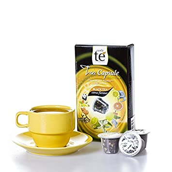 30 Nespresso Compatible Pods - Origen Tea, Black Citrus Tea, 3 Boxes - 10