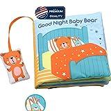 Best Baby Cloth Books - Teddy Bear Soft Cloth Book Baby Activity Books,Developmental Review