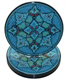 Le Souk Ceramique Dinner Plates, Set of 4, Sabrine Design