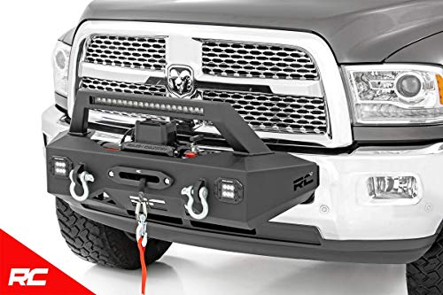 - Rough Country EXO Winch Mount System (fits) 2014-2018 RAM Truck 2500 31007 Winch Mount System