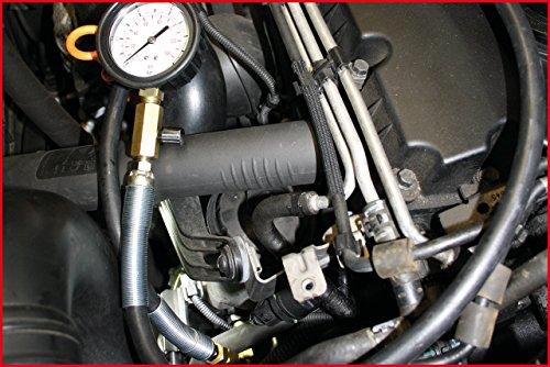 SK Hand Tool KS Tools Oil Pressure Testing Equipment, 12 pcs 0-10bar Clear by SK Hand Tool (Image #5)