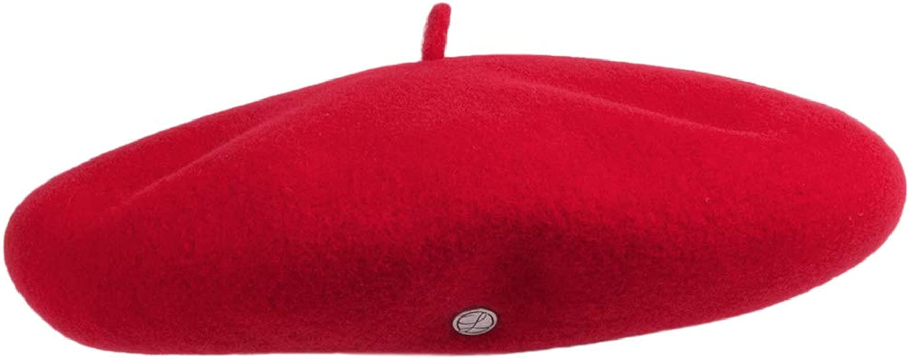 1c6a5ed5325f8 Laulhere Hats Cashmere Beret - Red 1-Size  Amazon.co.uk  Clothing