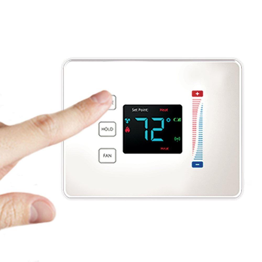Centralite 3-Series Pearl Touch Thermostat, White by Centralite 3-Series (Image #2)