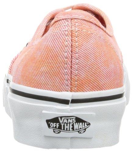 Furgoni Vans Unisex Autentico (pop) Scarpe Da Skate Coral (sparkle)