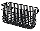 "Utensil Drying Rack - 3 Compartment (Black) (7.75""L x 2.75""W x 4.25""H)"