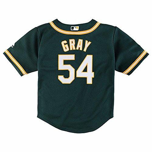 Outerstuff Sonny Gray MLB Majestic Oakland Athletics Alt Cool Base Jersey Infant (12M-24M)