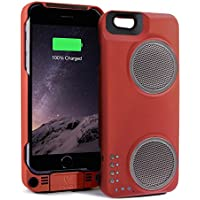 PERI Duo for iPhone 6/6s - Red (Not for 6 Plus Models)