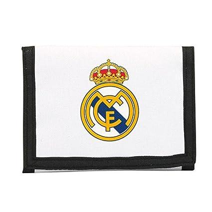 Billetera Real Madrid Cartera Monedero Hombre Mujer Niño Niña Producto Oficial