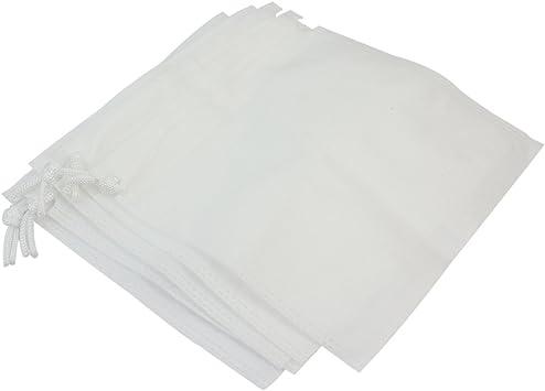 Pinzhi 5X Blanca Bolsas Recambio Accesorio para Manicura Aspirador Uñas Polvo Colector: Amazon.es: Juguetes y juegos