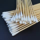 500 Pcs Swabs Cotton Sticks, Bantoye 6 Inches