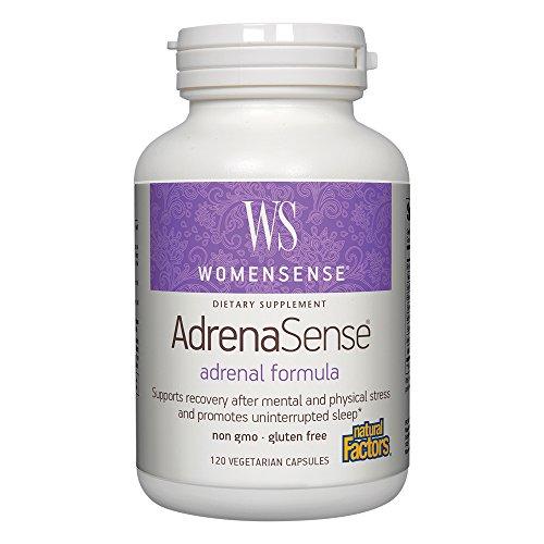 Natural Factors WomenSense AdrenaSense Anti Stress product image