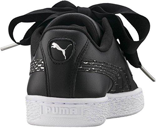 Puma Damen Korb Herz Oceanaire Schuhe, 37.5 EU, Black White