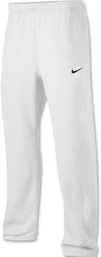 Nike Club Swoosh - Pantalones de chándal para hombre (forro polar) - Blanco - Large Tall: Amazon.es: Ropa y accesorios