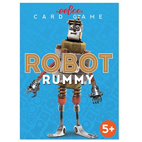eeBoo Robot Rummy Card Game for Kids by eeBoo