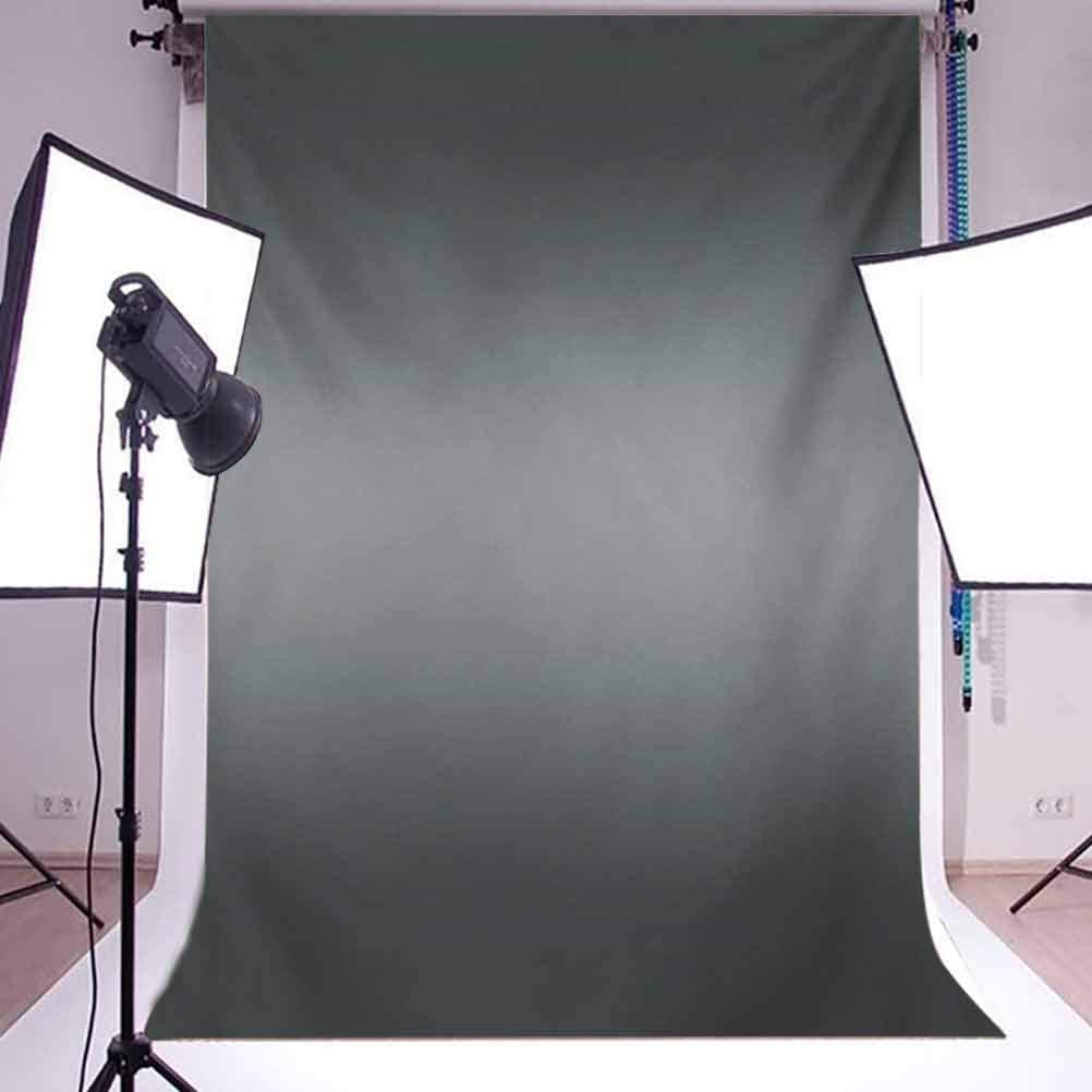 Ombre 10x12 FT Photo Backdrops,Fume Fog Dark Smoke Industry Theme Inspired Dark Gray Colored Modern Background for Baby Shower Birthday Wedding Bridal Shower Party Decoration Photo Studio