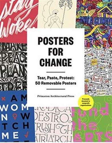 Posters Change Paste Protest Removable