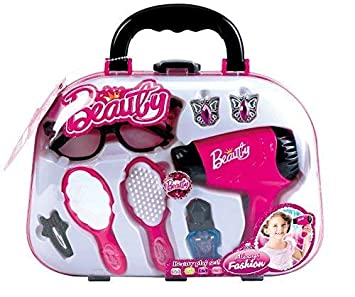 a45d8ee28d5 Coo11 Pretty Girls Beauty Salon Fashion Play Set with Hairdryer, Mirror &  Styling Accessories: Amazon.co.uk: Toys & Games