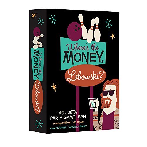 Where's the Money, Lebowski? - The Official Loaded Questions Party Game based on The Big Lebowski JungleDealsBlog.com