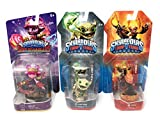 Skylanders Character Pack Torch Splat Funny Bone Trading Cards Sticker Sheet - Set of 3