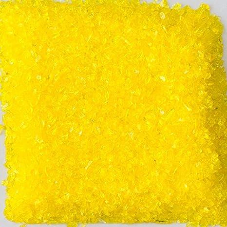 Amazon Com Chunky Yellow Terrazzo Glass American