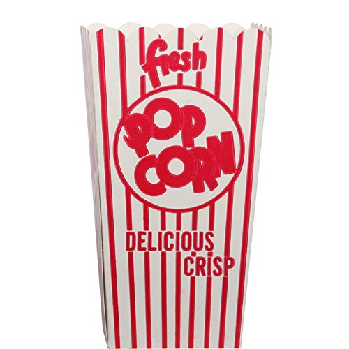 44E Open Top Popcorn Box (500/Case) by Snappy Popcorn
