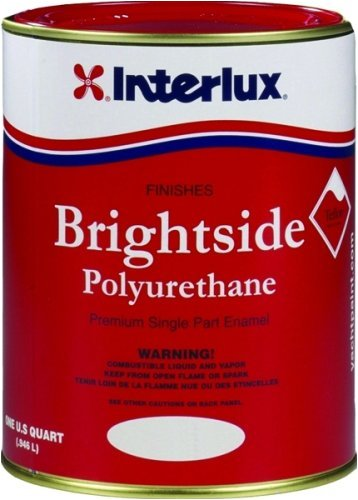 Amazon Interlux Y4259qt Blue Glo White Brightside Polyurethane