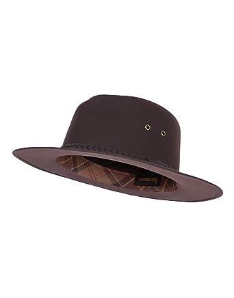 Barbour Unisex Wax Bushman Hat - Rustic Brown MHA0025RU51 (H8046) - XL 51de4fb92d4b
