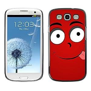 SHIMIN CAO- Dise?o Caso duro de la cubierta Shell protector FOR Samsung Galaxy S3 I9300 I9308 I737- Funny Kidding Pattern Art Cartoon Cute